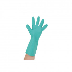 Nitrile Synthetic Rubber Flock Lined Gloves