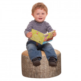 Learn about Nature Tree Stump Stool
