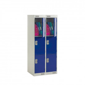 Nest of 2 Primary Lockers - Padlock