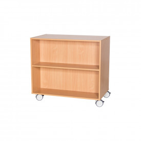 Double Sided Mobile Shelving 900mm(h)