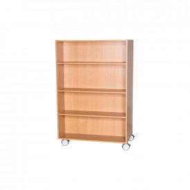 Double Sided Mobile Shelving 1500mm(h)