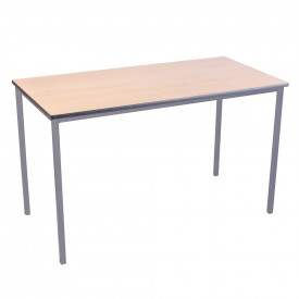 Spray PU Edge Welded Frame Rectangular Tables 1100mm(w) x 550mm(d)