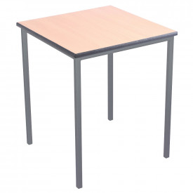 Spray PU Edge Welded Frame Tables 600mm x 600mm