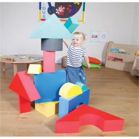 Giant Foam Coloured Blocks