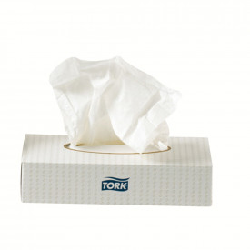 TORK® 2 Ply Facial Tissues
