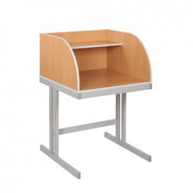 Cantilever & Straight Legs Study Carrel