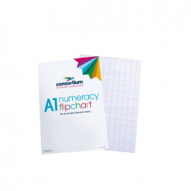 Consortium A1 Literacy and Numeracy Flip Chart Pads