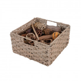 Seagrass Wire Basket