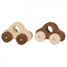 Small Natural Wooden Vehicles