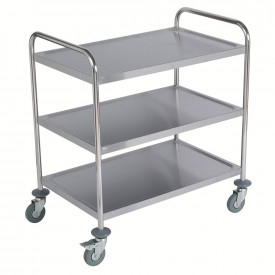 Stainless Steel Flat Packed Trolley
