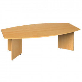Arrowhead Radial Boardroom Table