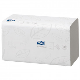TORK® Advanced Soft Singlefold Hand Towels 2 Ply