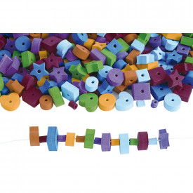 Jumbo Fun Shapes Foam Beads