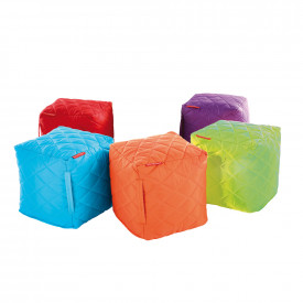 BIG DEAL Qulited Bean Cubes Pack of 6 Bundle