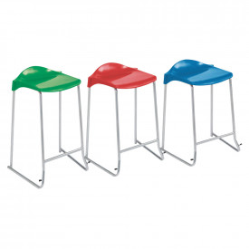 Skid Base Lipped Stool