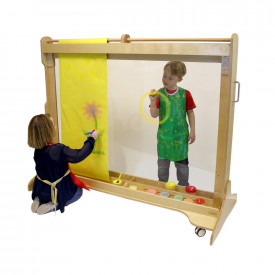 Giant Free Standing Painting Wall
