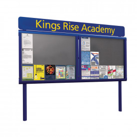 WeatherShield Freestanding Headline Signage