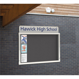 WeatherShield Wallmounted Headline Signage