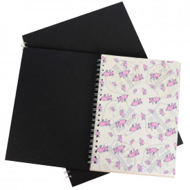 Pink Pig Sketchbooks