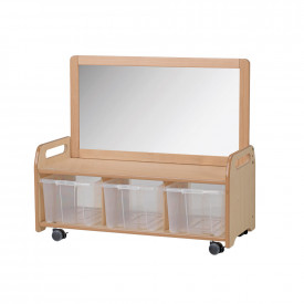Mobile Mirror Storage Unit