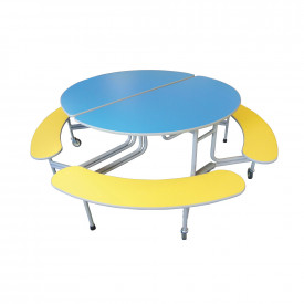 Sico Bench Round Tables