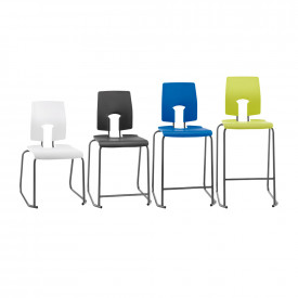 Hille High Back SE Stools