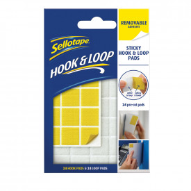 Sellotape® Removable Hook & Loop