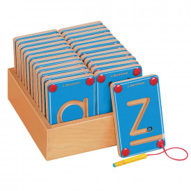 Lowercase Magnetic Learning Letters