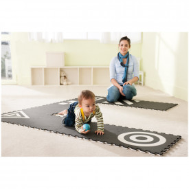 3D Creative Black & White Mats