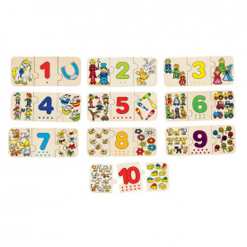 Learn to Count & Match Puzzle