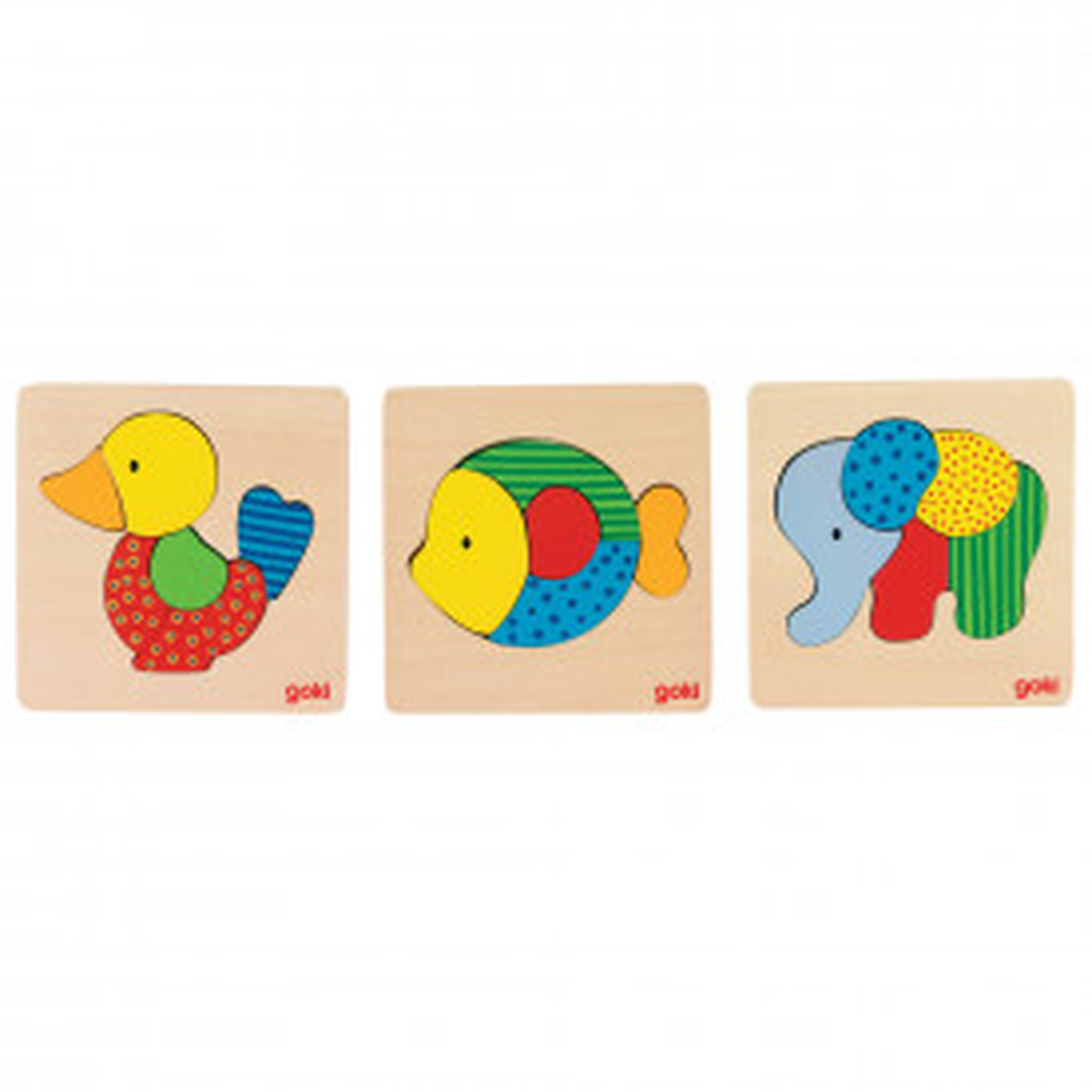 Animal Puzzles Set