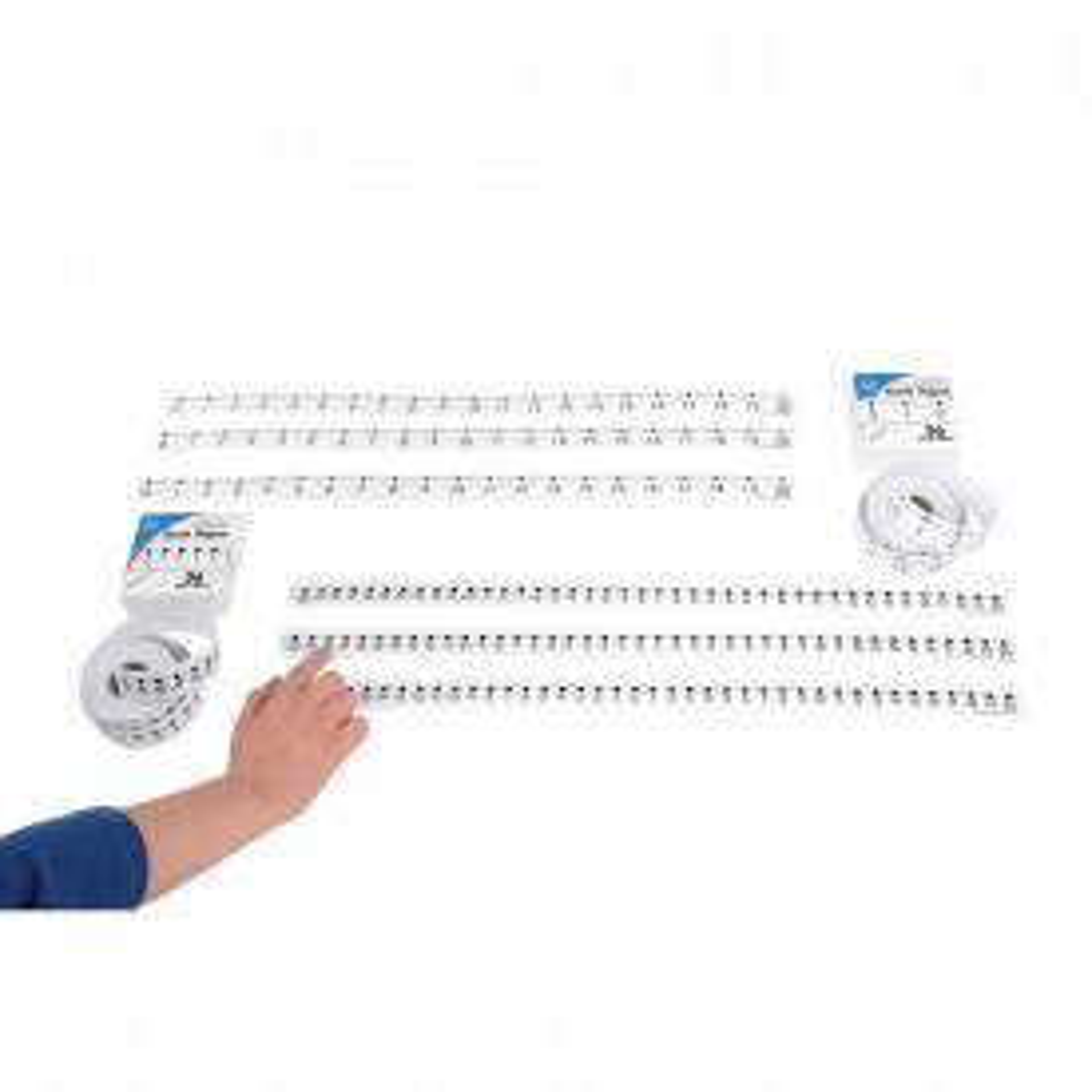 0 to 20 Number Line Desk Tape