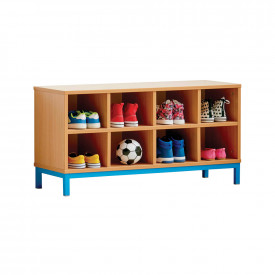 Open Compartment Bench
