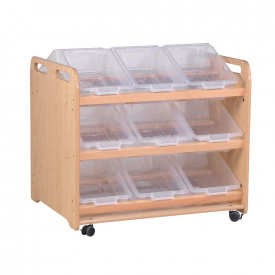 Tilt Tote Storage Double Sided