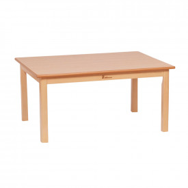 Small Rectangular Table Solid Beech