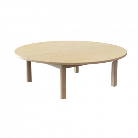 Circular Solid Beech Table