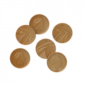 One Pence Coins Set