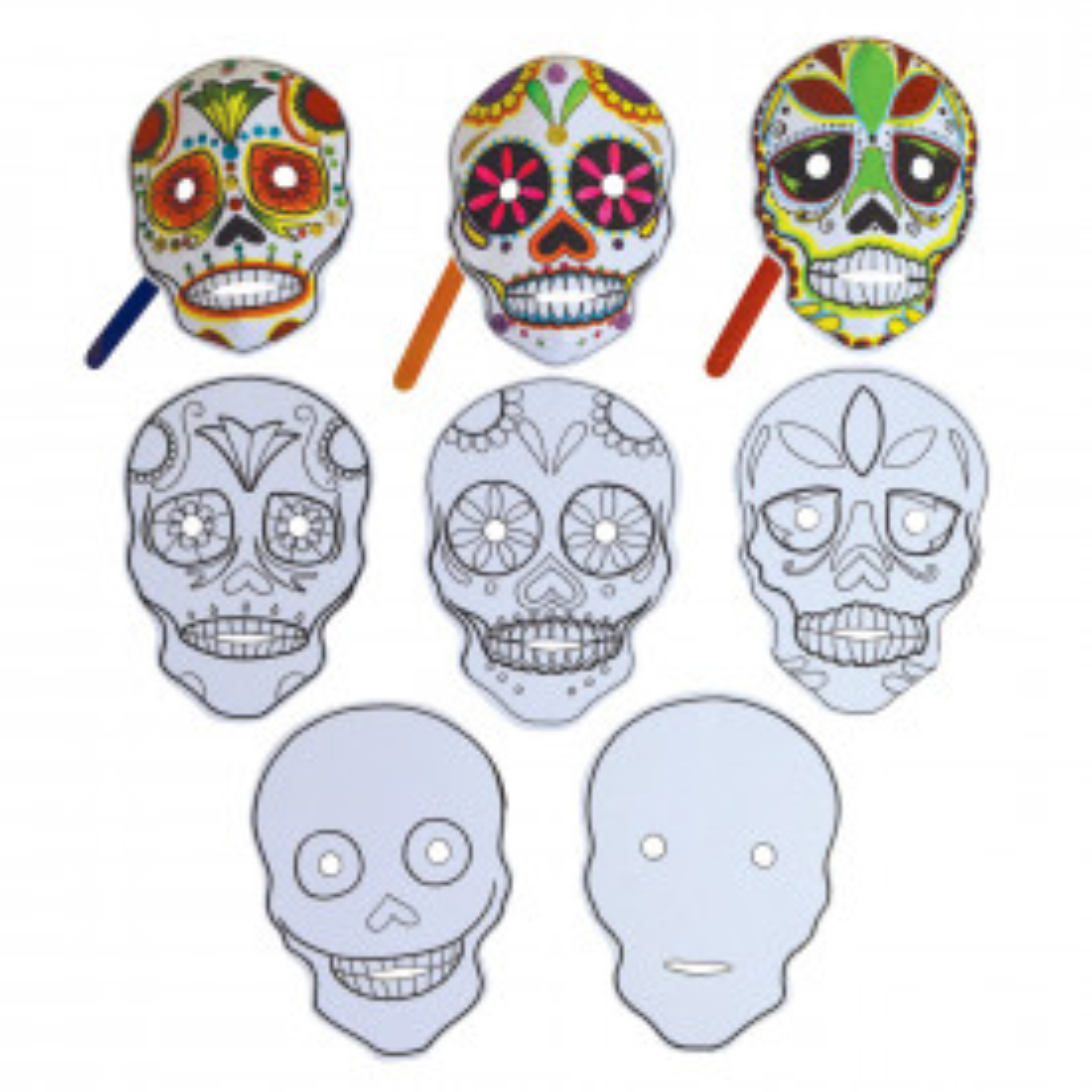 Make your own Sugar Skulls