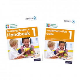 Numicon Geometry, Measurement and Statistics Teaching Packs