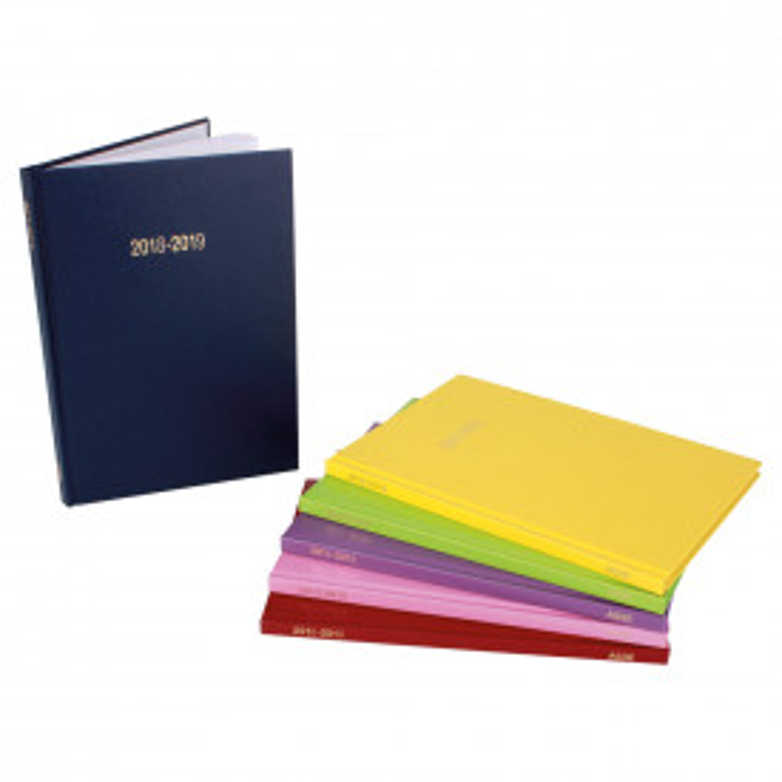 Coloured Academic Diaries A5 2018/19