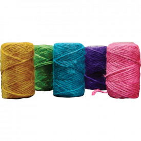 Coloured Jute Yarn