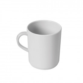 Melamine White Mugs