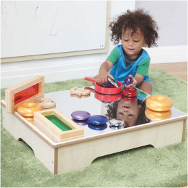 Toddler Wooden Mirror Table
