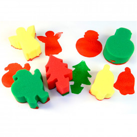 Christmas Sponge Painting Set
