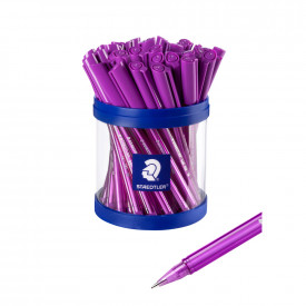 Staedtler Purple Ballpoints