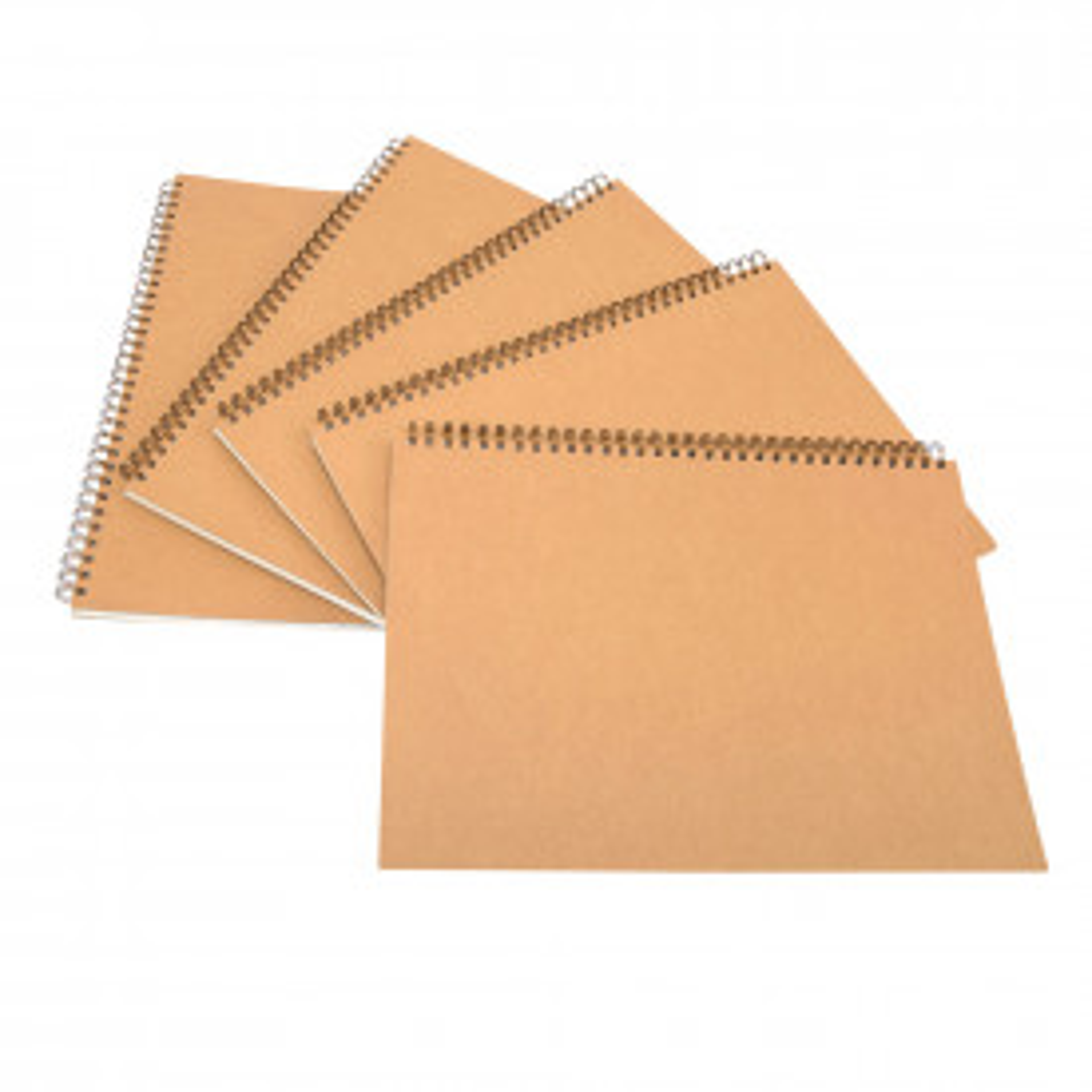 Pisces A3 Hardback Kraft Cover Spiral Sketchbooks