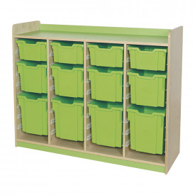 Quad Column Combination 12 Tray Unit
