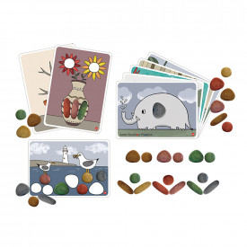 Junior Rainbow Pebbles Natural Set