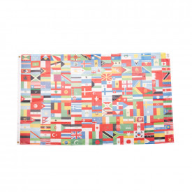 Flags of the World - Fabric & Bunting Pack