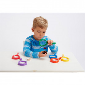 Rainbow Magnifiers, Tongs & Viewers